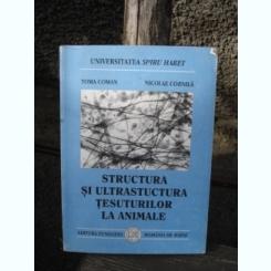 STRUCTURA SI ULTRASTRUCTURA TESUTURILOR LA ANIMALE - TOMA COMAN