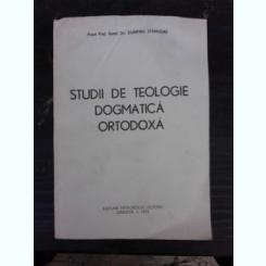 STUDII DE TEOLOGIE DOGMATICA ORTODOXA - DUMITRU STANILOAE