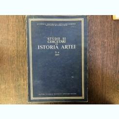 STUDII SI CERCETARI DE ISTORIA ARTEI NR 3-4/1955