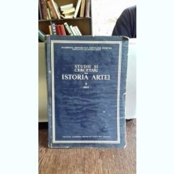 STUDII SI CERCETARI DE ISTORIA ARTEI - TOMUL 2/1961