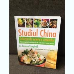 Studiul China, Colectia de retete a vedetelor - Dr. Leanne Campbell