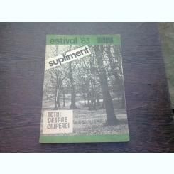 Supliment estival Tribuna 83-Totul despre ciuperci