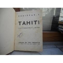 TAHITI , TEXTE ET PHOTOGRAPHIES DE L.GAUTHIER