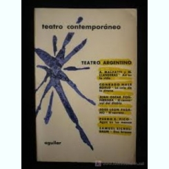 TEATRO ARGENTINO-,1962,IN LIMBA SPANIOLA