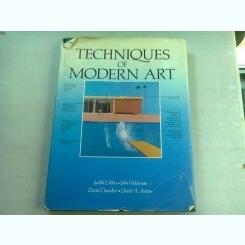 TECHNIQUES OF MODERN ART - JUDITH COLLINS