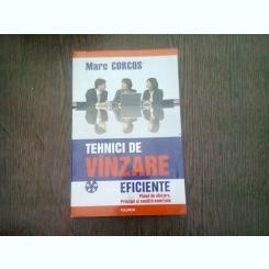 TEHNICI DE VANZARE EFICIENTE - MARC CORCOS