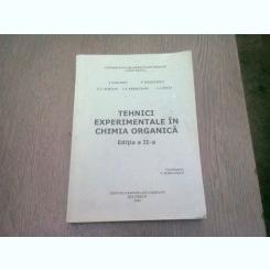 TEHNICI EXPERIMENTALE IN CHIMIA ORGANICA - I. SARAMET SI ALTII