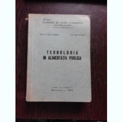 TEHNOLOGIA IN ALIMENTATIA PUBLICA - C. DIMITRIU
