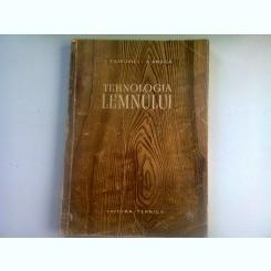 TEHNOLOGIA LEMNULUI - J. FILIPOVICI