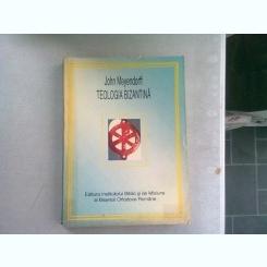 TEOLOGIA BIZANTINA - JOHN MEYENDORFF