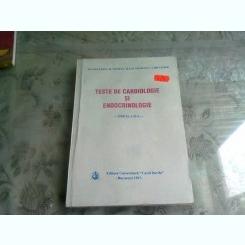 TESTE DE CARDIOLOGIE SI ENDOCRINOLOGIE - M. COCULESCU