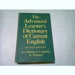 THE ADVANCED LEARNER'S DICTIONARY OF CURRENT ENGLISH - A.S. HORNBY