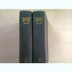 THE CONCISE ENGLISH DICTIONARY - H.W. FOWLER  2 VOLUME