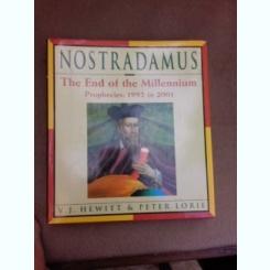 The end of the millennium, prophecies 1992 to 2001 - Nostradamus  (carte in limba engleza)