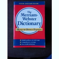THE MERRIAM-WEBSTER DICTIONARY  (TEXT IN LIMBA ENGLEZA)