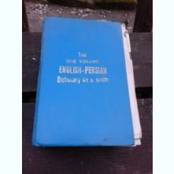 THE ONE VOLUME ENGLISH-PERSIAN - S. HAIM