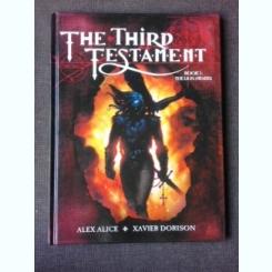 THE THIRD TESTAMENT, BOOK 1, THE LION AWAKES - ALEX ALICE, XAVIER DORISON  (CARTE CU BENZI DESENATE, TEXT IN LIMBA ENGLEZA)
