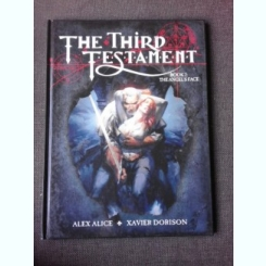 THE THIRD TESTAMENT, BOOK 2, THE ANGEL'S FACE - ALEX ALICE, XAVIER DORISON (CARTE CU BENZI DESENATE, TEXT IN LIMBA ENGLEZA)