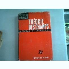 THEORIE DES CHAMPS - LANDAU