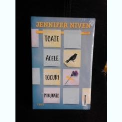 Toate acele locuri minunate - Jennifer Niven