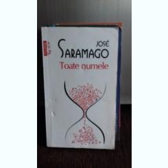 TOATE NUMELE , JOSE SARAMAGO