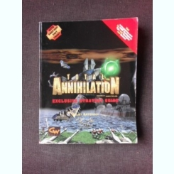TOTAL ANNIHILATION, EXCLUSIVE STRATEGY GUIDE - SELBY BATEMAN  (CARTE IN LIMBA ENGLEZA)