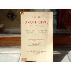 Traite de Droit Civil , Georges Ripert , 1958
