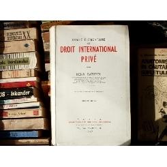 Traite elementaire de droit International Prive , Henri Batiffol , 1959