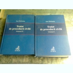TRATAT DE PROCEDURA CIVILA - ION DELEANU  2 VOLUME