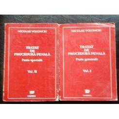 TRATAT DE PROCEDURA PENALA - NICOLAE VOLONCIU 2 VOL