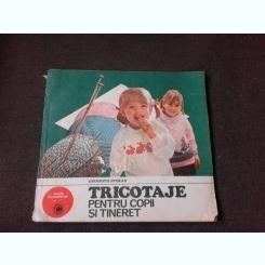 Tricotaje pentru copii si tineret , Georgiana Stoean , 1985