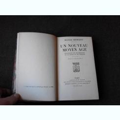 UN NOUVEAU  MOYEN AGE - NICOLAS BERDIAEFF  (CARTE IN LIMBA FRANCEZA)
