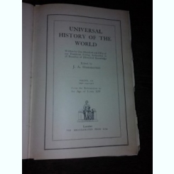 UNIVERSAL HISTORY OF THE WORLD - J.A. HAMMERTON, VOLUME VI (CARTE IN LIMBA ENGLEZA)