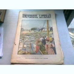 UNIVERSUL LITERAR NR.20/10 MAI 1905  (CURSA DE BARCI AUTOMOBILE INTRE ALGER SI TOULON)