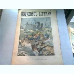 UNIVERSUL LITERAR NR.34/21 AUGUST 1906  (NAUFRAGIUL PIROSCAFULUI SIRION)