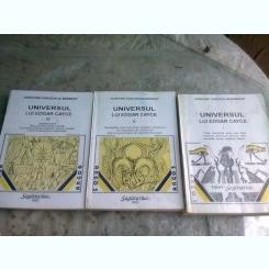 UNIVERSUL LUI EDGAR CAYCE , VOLI-III -  DOROTHEE KOECHLIN DE BIZEMONT