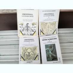 UNIVERSUL LUI EDGAR CAYCE , VOLI-IV, DE DOROTHEE KOECHLIN DE BIZEMONT , 1995,2000