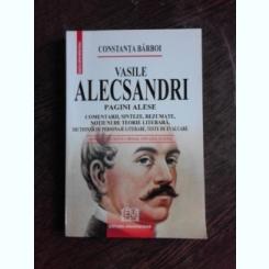 VASILE ALECSANDRI, PAGINI ALESE - CONSTANTA BARBOI