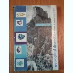 VICTOR CORVIN PAPIU - GEOLOGIE SI DRUMETIE - TRASEE IN CARPATII ROMANESTI (ED STIINTIFICA 1963 311 PAG)