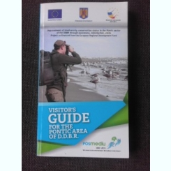 VISITOR'S GUIDE FOT THE PONTIC AREA OF D.D.B.R.  ( DELTA DUNARII GHID,TEXT IN LIMBA ENGLEZA)