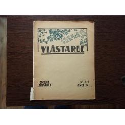 Vlastarul nr.3-4 anul IX 1933 , Revista