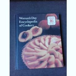 WOMAN'S DAY, ENCYCLOPEDIA OF COOKERY, VOL.16, PEA-PLA (RETETE CULINARE, TEXT IN LIMBA ENGLEZA)