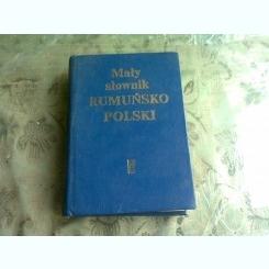 Zdzislaw Skarzynski - Dictionar roman-polon