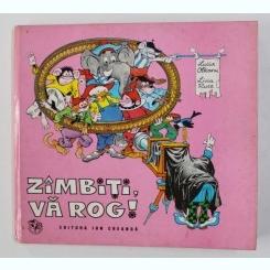 ZIMBITI , VA ROG ! DESENE DE LIVIA RUSZ , SCENARIU DE LUCIA OLTEANU , 1973