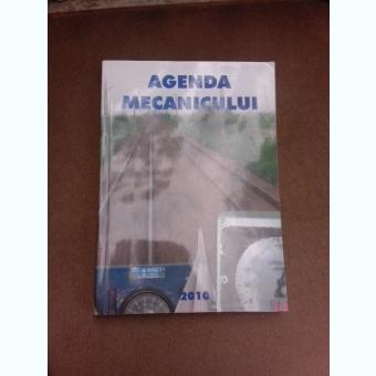 Agenda mecanicului, 2010