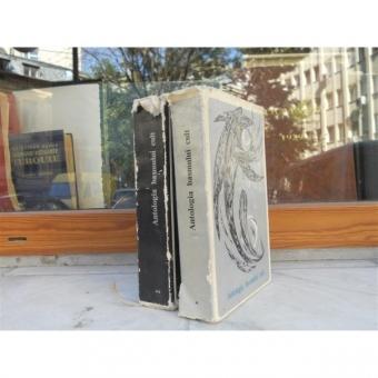 ANTOLOGIA BASMULUI CULT,2 VOLUME,1968,EDITURA PENTRU LITERATURA