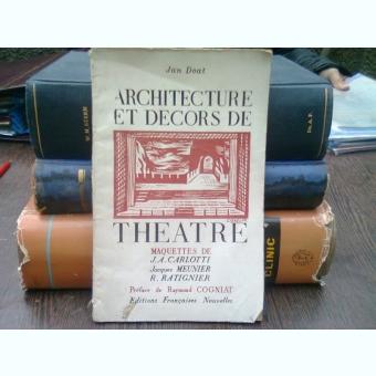 Architecture et decors de theatre - Jan Doat