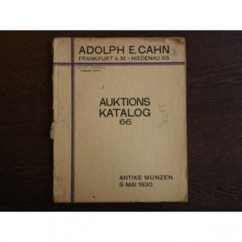 Auktions Katalog 66 , Adolph E. Cahn