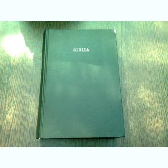 BIBLIA SAU SFINTA SCRIPTURA