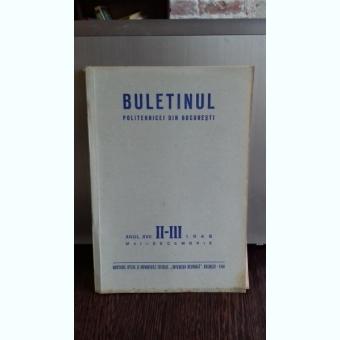BULETINUL POLITEHNICEI DIN BUCURESTI NR II-III/1948